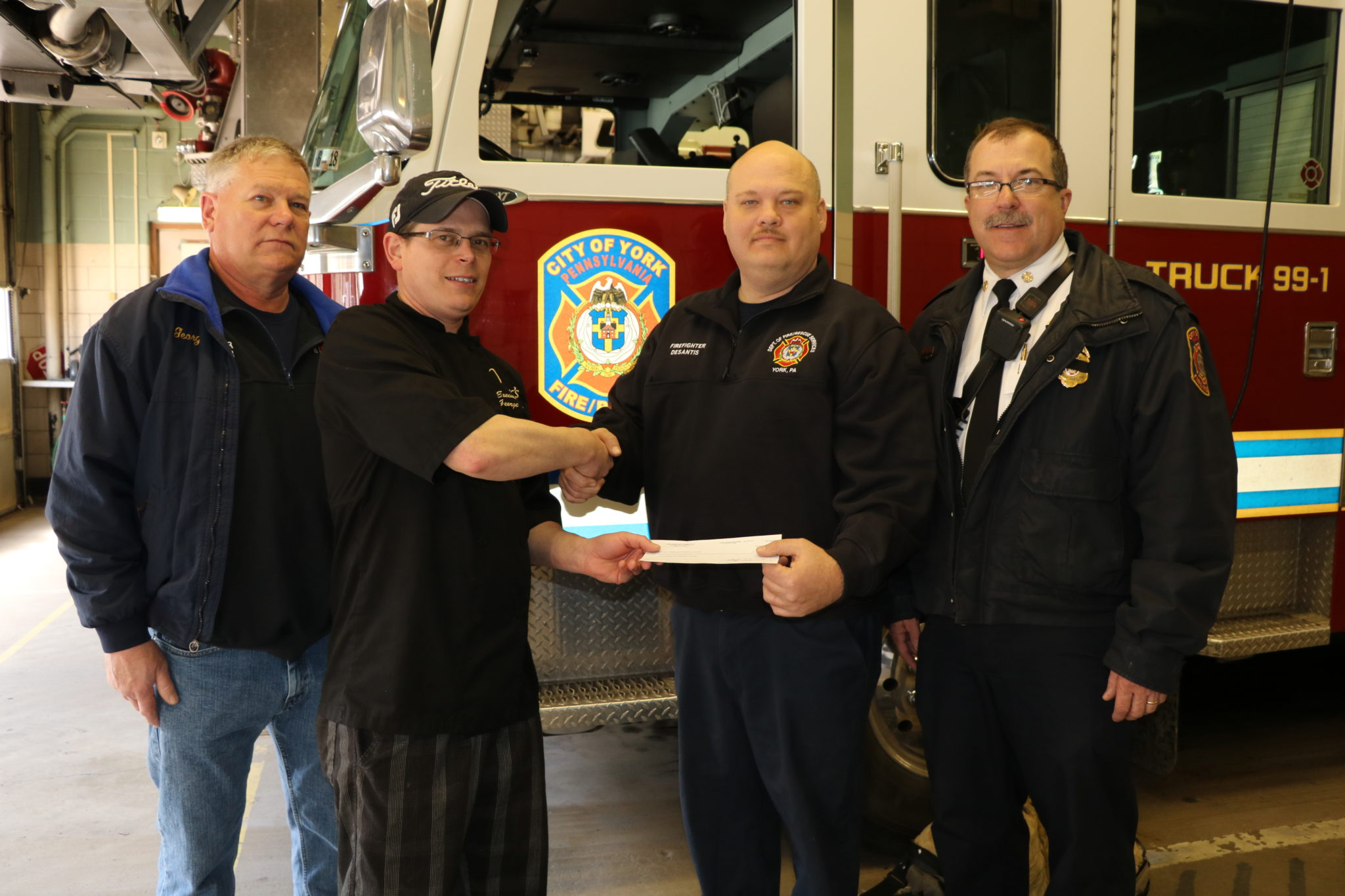 """""""Dine and Donate"""" for York City Fire"""