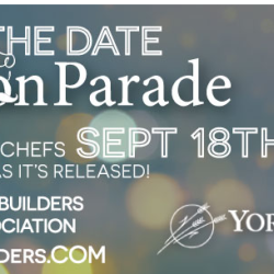 Chef's On Parade September 18th