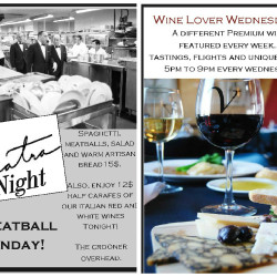 Meatball Monday & Wine Lover Wednesday