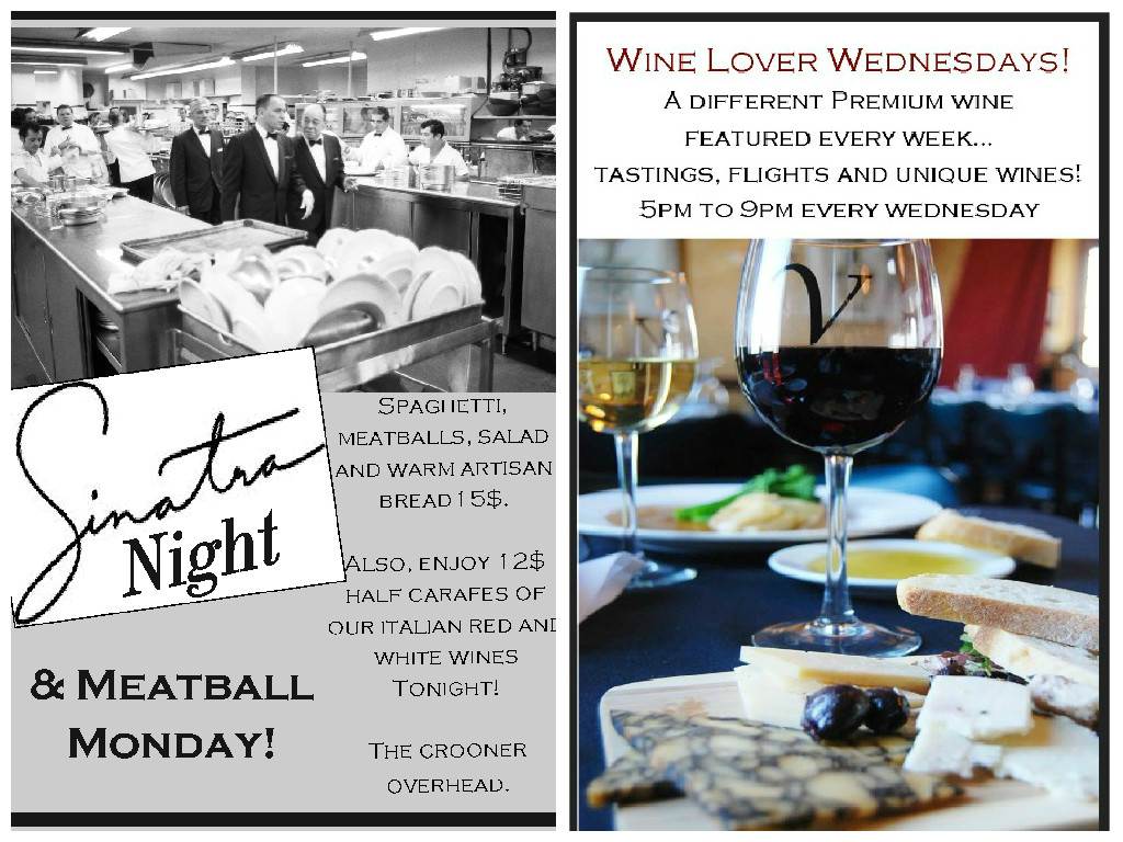 Meatball Monday & Wine Lover Wednesday